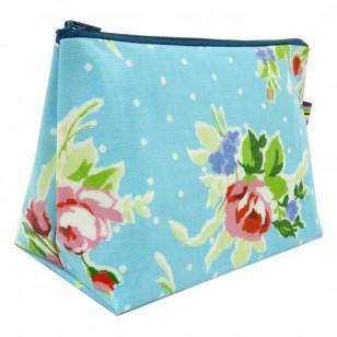Trousse fleurs des iles bleue