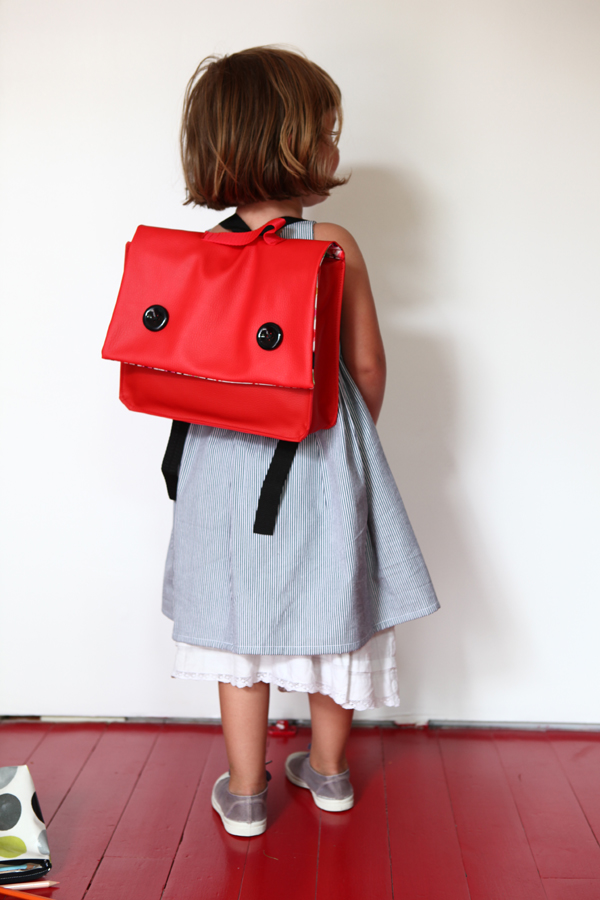 cartable maternelle rouge