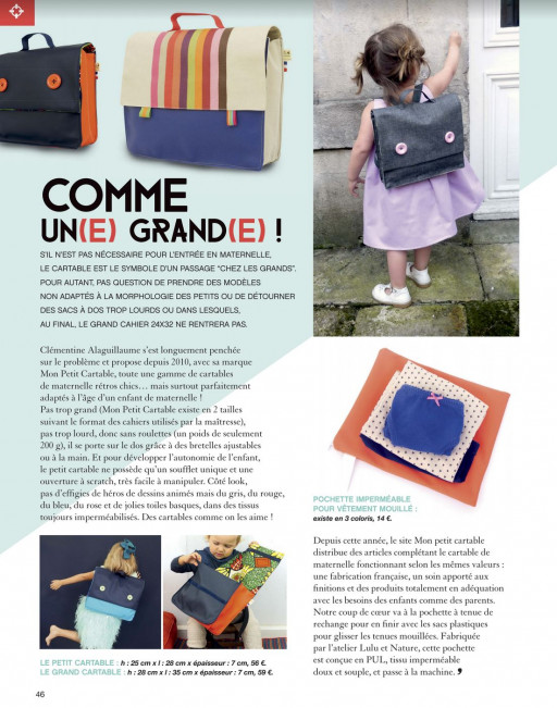 Cartable made in France