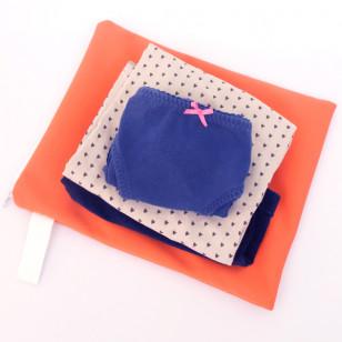 Pochette imperméable pour vêtement mouillé-orange