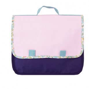 Cartable de fille, en liberty !