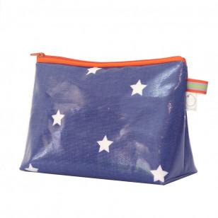 Trousse étoiles bleue