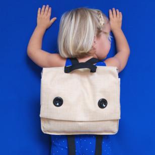 Cartable d'enfant pour la maternelle rétro, petit format