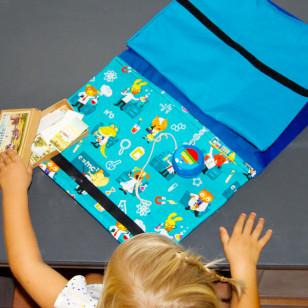 Cartable pour la maternelle - Grand cahier
