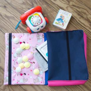 Cartable de maternelle fille - Grand cahier