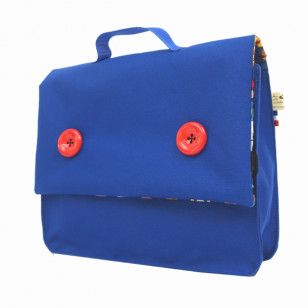 Cartable de maternelle bleu Klein