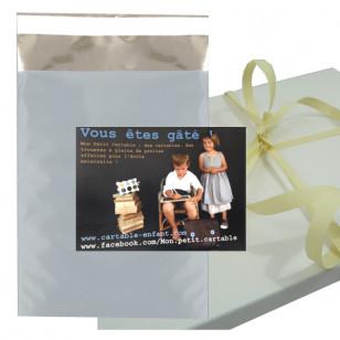 Colis cadeau avec carte personnalisée