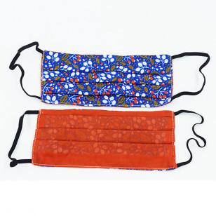 Masque adulte en tissu, plusieurs couleurs
