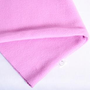 Tour de cou polaire rose
