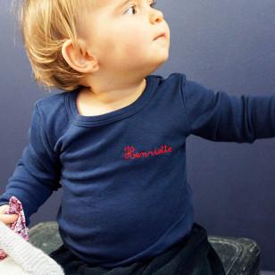 T-shirt personnalisable, fabrication Française