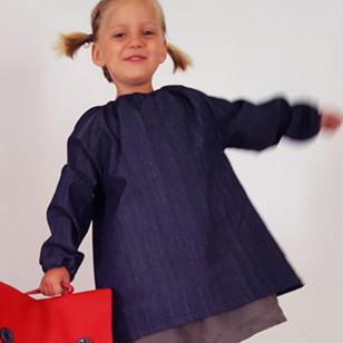 Tablier - Blouse pour la maternelle