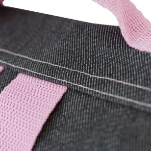 Cartable jean & rose pour fille
