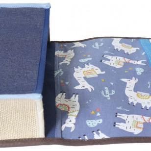 Cartable bleu marine pour la maternelle