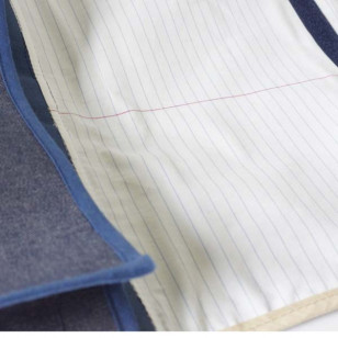 Cartable premier de la classe en jean (Gd format)