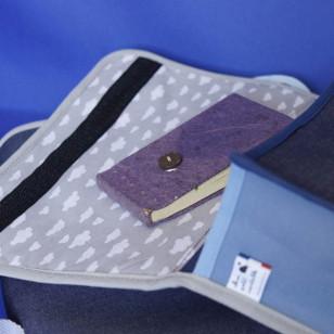 Cartable bleu pour enfant ! Denim charmant