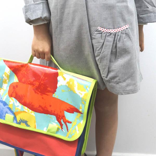 Cartable enfant de maternelle, 2 modèles petit format