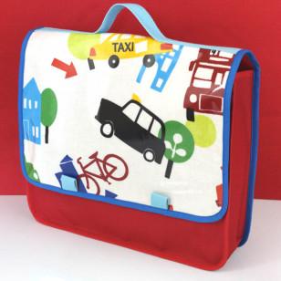 Cartable maternelle garçon transport Londres (Gd format)