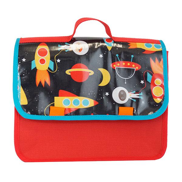 Cartable maternelle fusées et cosmonautes!