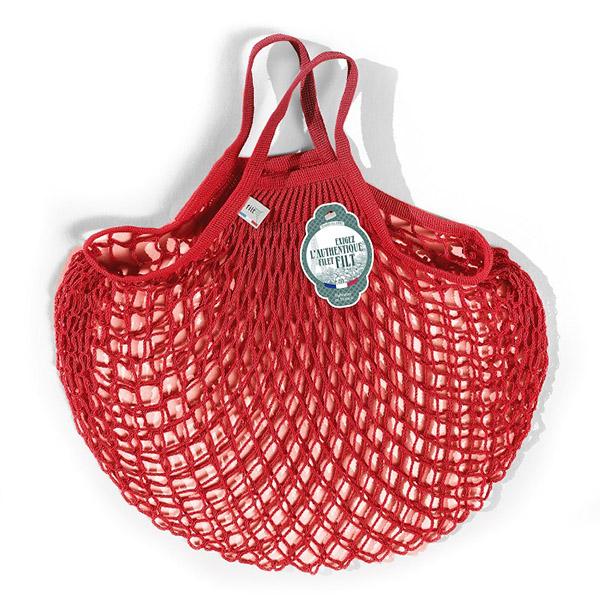 Grand sac filet rouge anémone
