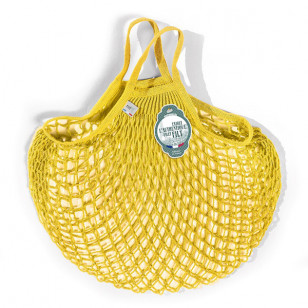 Grand sac filet jaune solarium