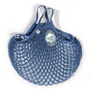 Grand sac filet bleu jean