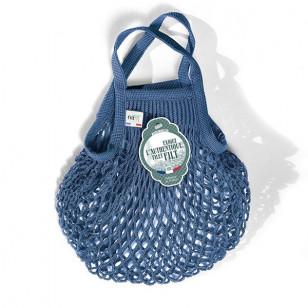Petit sac filet bleu jean