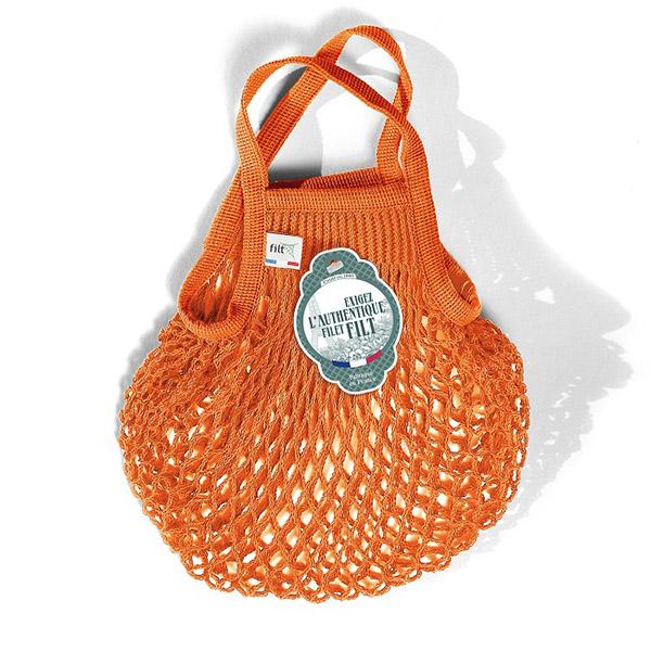 Petit sac filet orange