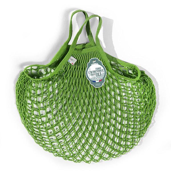 Grand sac filet vert laitue