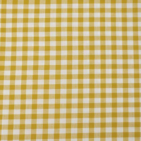 Housse serviette/petit sac gouter, vichy jaune