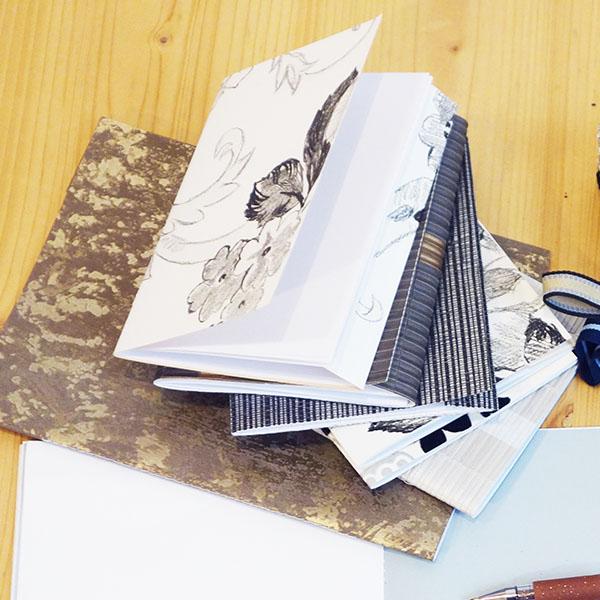 Calepin en papier upcyclé